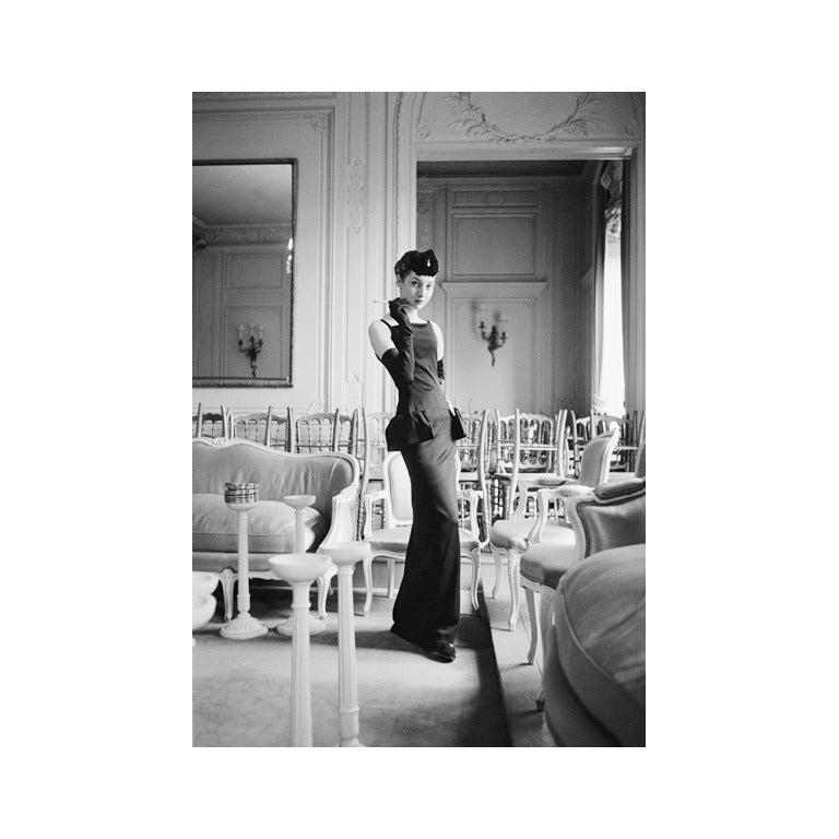 Mark Shaw Dior Model Renee In Gazette Du Bon Ton At 1stdibs