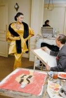 Dior, Alla in Artamene with Eric, 1954