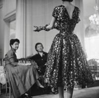Dior Vivante Metallic Dress