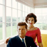 Portrait of John F. and Jacqueline Kennedy