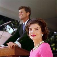 Jacqueline Kennedy in Pink Dress