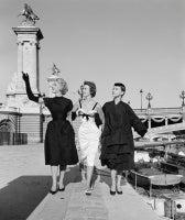 Three Girls in Dior Wave, Paris
