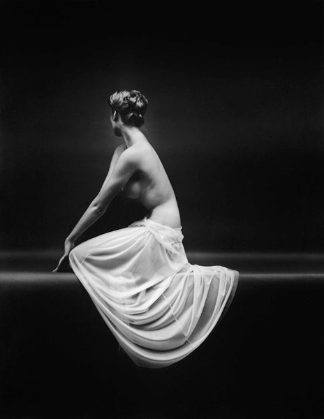 Mark Shaw Black and White Photograph - Vanity Fair Nude Shrug