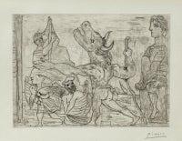 Minotaure aveugle guidé par une Fillette, III