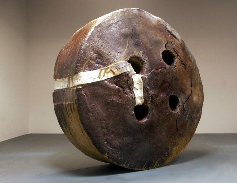 Ryan Mitchell Abstract Sculpture - Huge  Button
