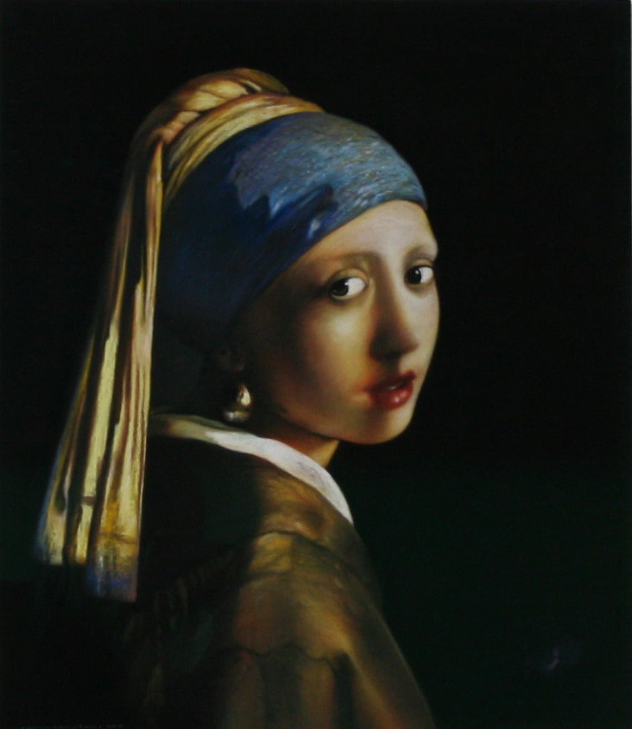 Andrew Hemingway The Girl With The Pearl Earring After