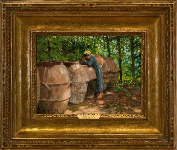 """""""Olive Barrels"""""""