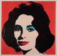 Liz II.7  Andy Warhol 1964