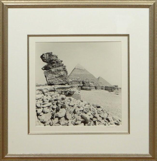 Paul Maurer Vintage Silver Gelatin Signed Photograph