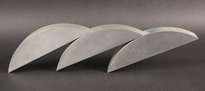 60s Kadishman Israeli sculpture in steel or aluminum Suspension
