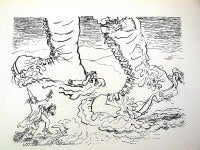 1936 Lithograph War Boots small edition