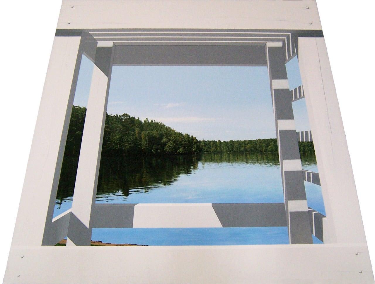 Warner Friedman Landscape Painting - Summertime