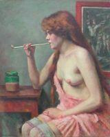 Femme a la Pipe