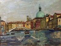 Ponte Della Terovia. Venezia
