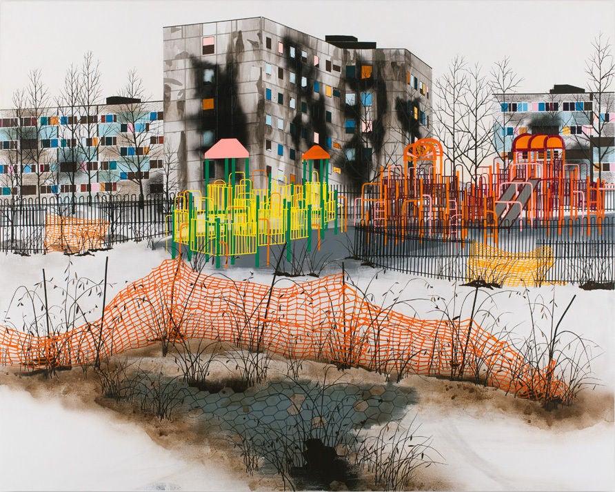 Erik Benson Detouring Painting At 1stdibs