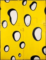 Untitled (Swiss Cheese Elevator Doors)