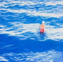 Wading II ( Blue )