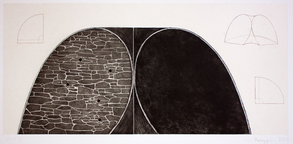 Lean To - Print by Martin Puryear