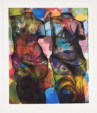 Jim Dine Women And Water At 1stdibs