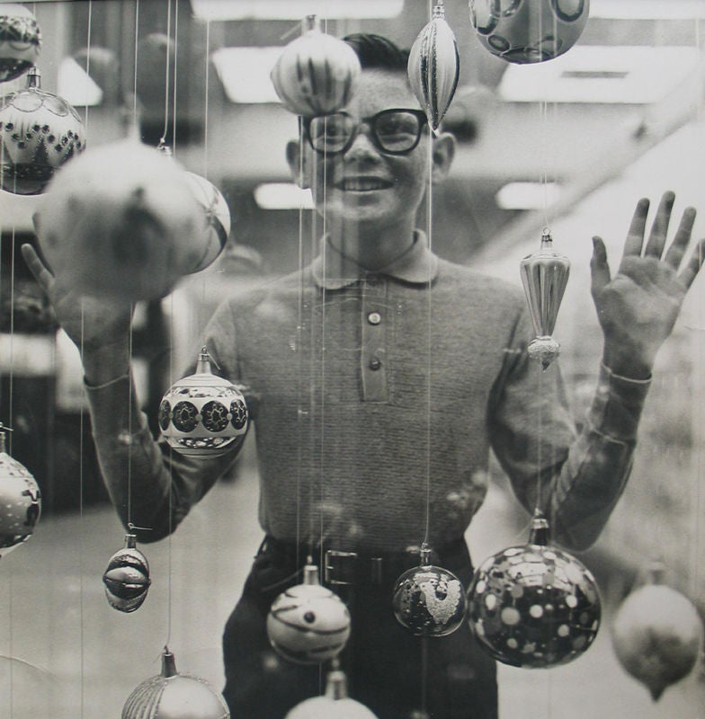 Christmas Boy - Photograph by Richard Avedon