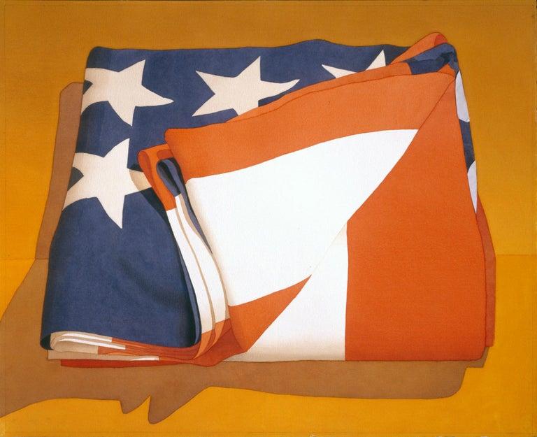 Folded Flag - Print by Mark Adams