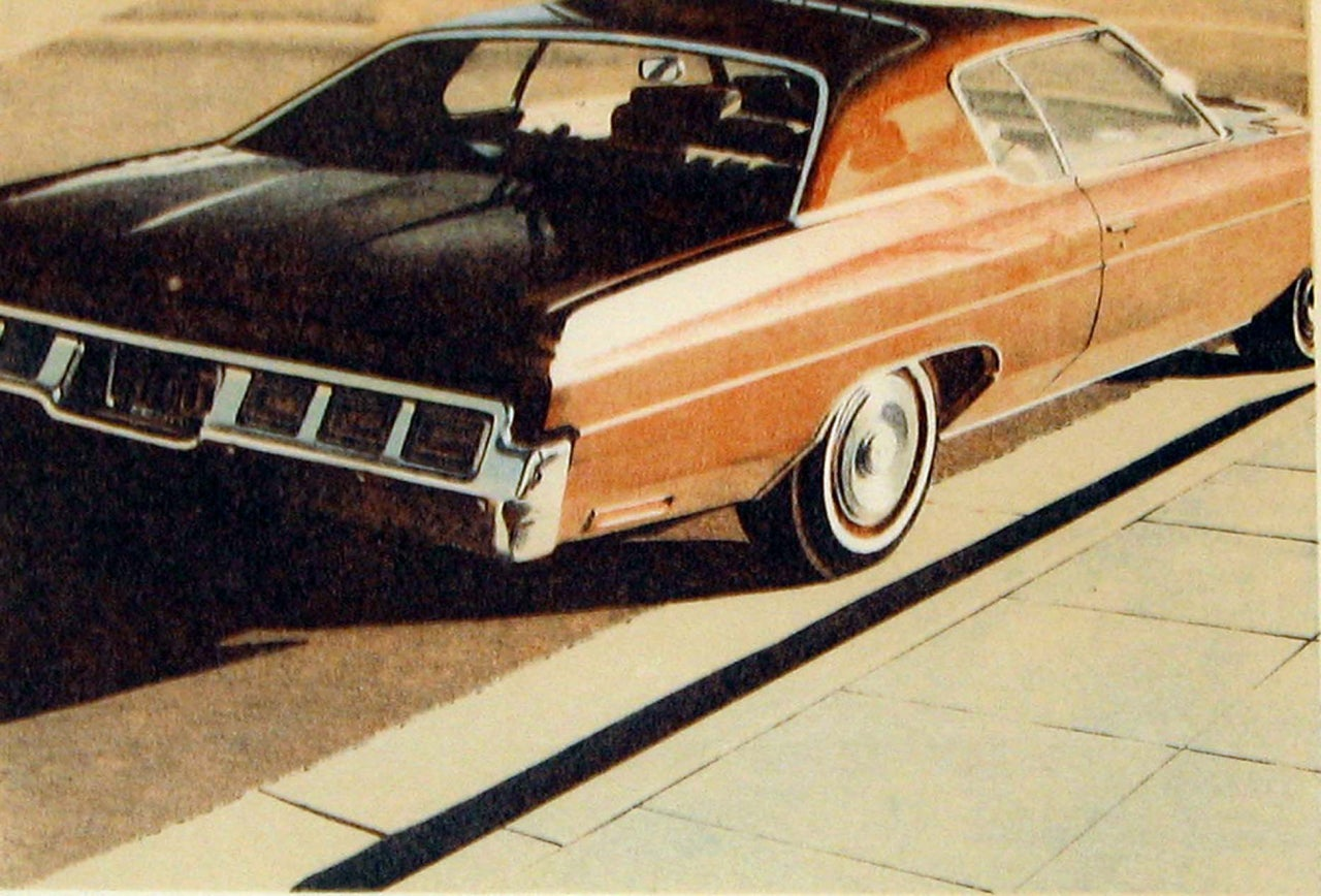 '71 Caprice, from Four Chevies