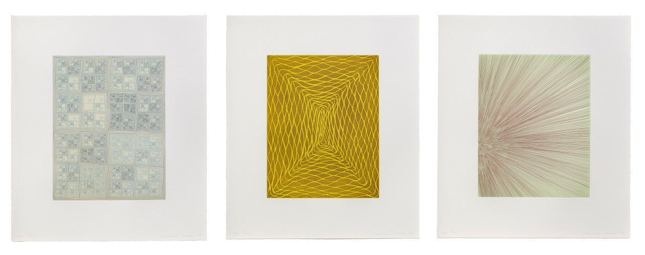 Suite of Three Prints
