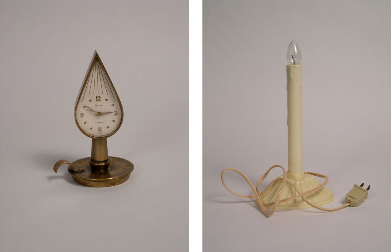 Two Candles (Diptych)