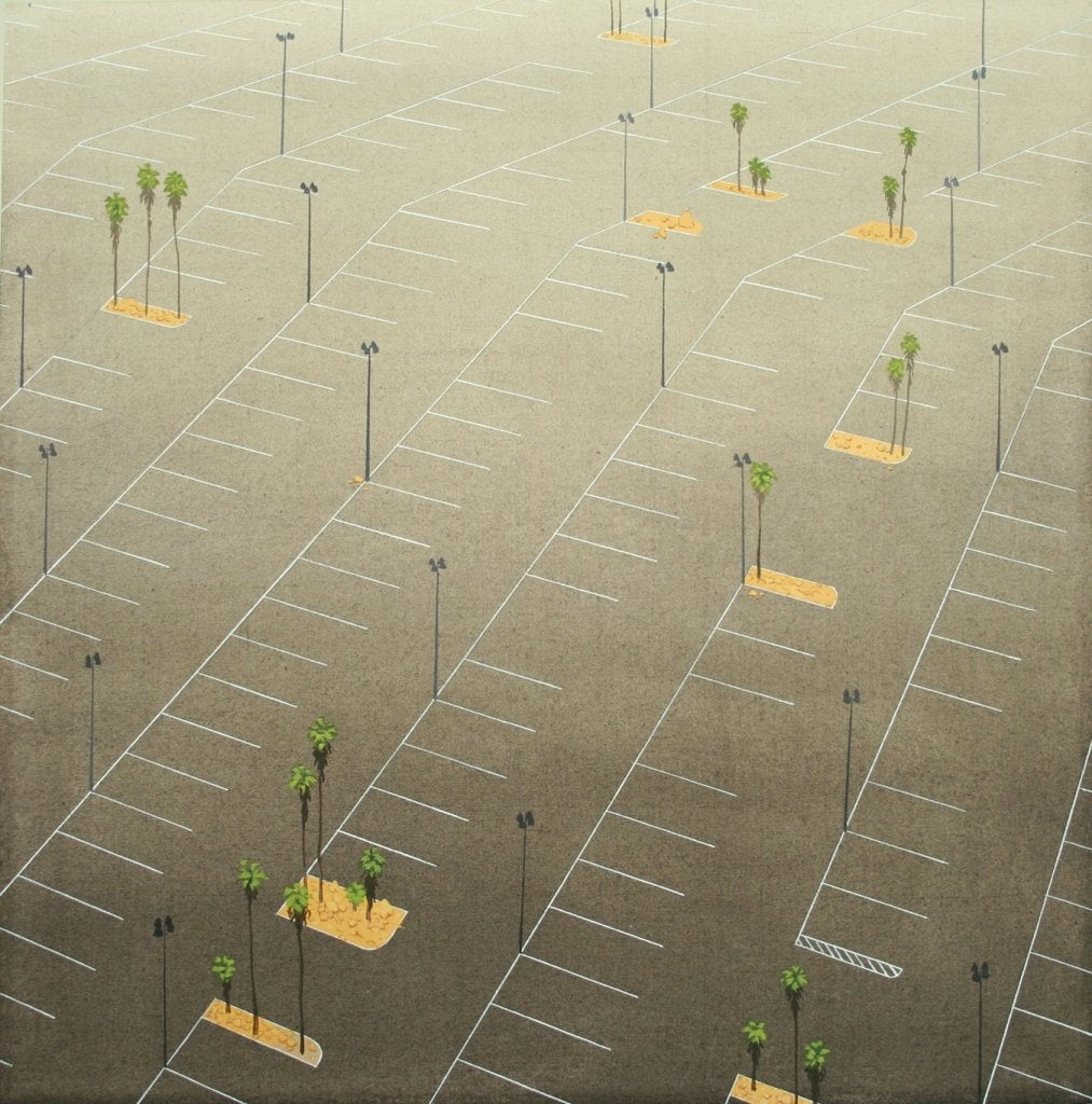 Parking Lot (with Palms)