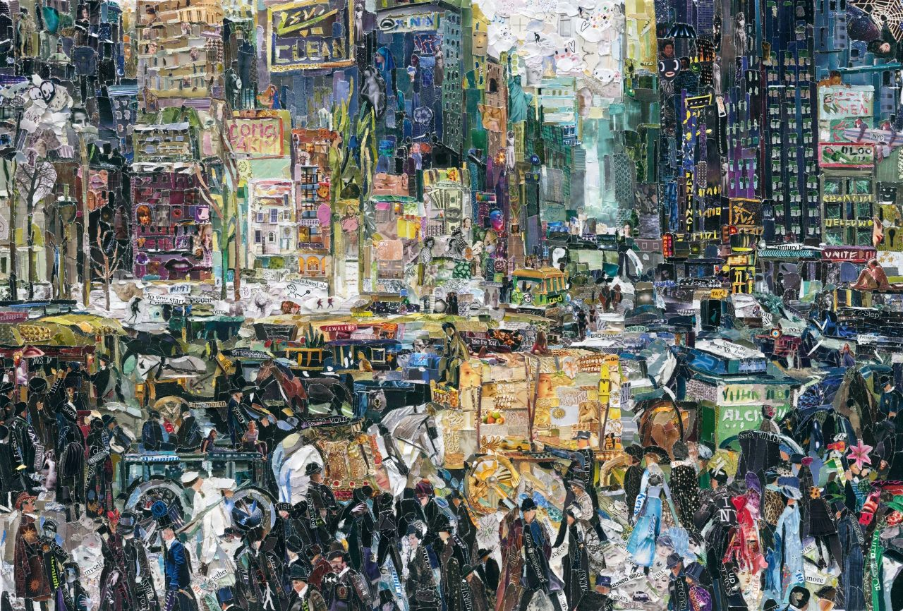 Vik Muniz New York City After George Bellows Pictures