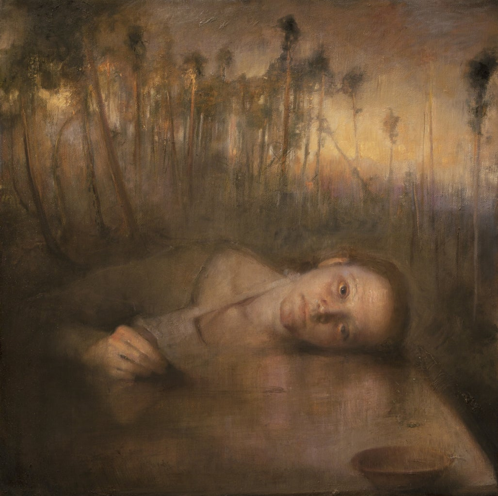 Odd Nerdrum Sandra By The Stone Table At 1stdibs