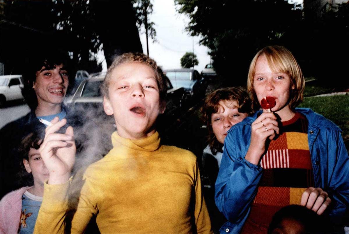 Mark Cohen Boy In Yellow Shirt Smoking At 1stdibs