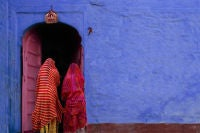 Jeffrey Becom - Pink Door, Jaisalmer, Rajasthan, India