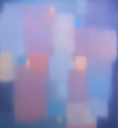 "Julian Jackson ""Silence/Winter"" -- Colorful Abstract Painting on Panel"