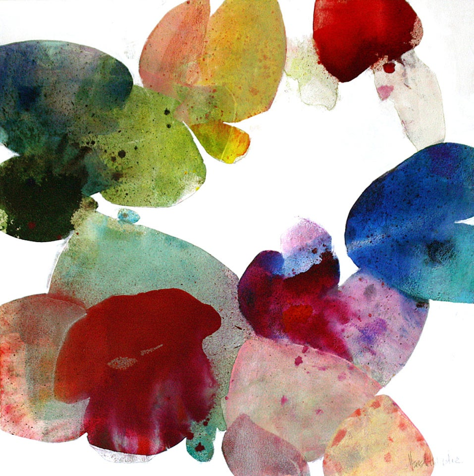 Meredith Pardue Kapalua Hibiscus V Painting At 1stdibs
