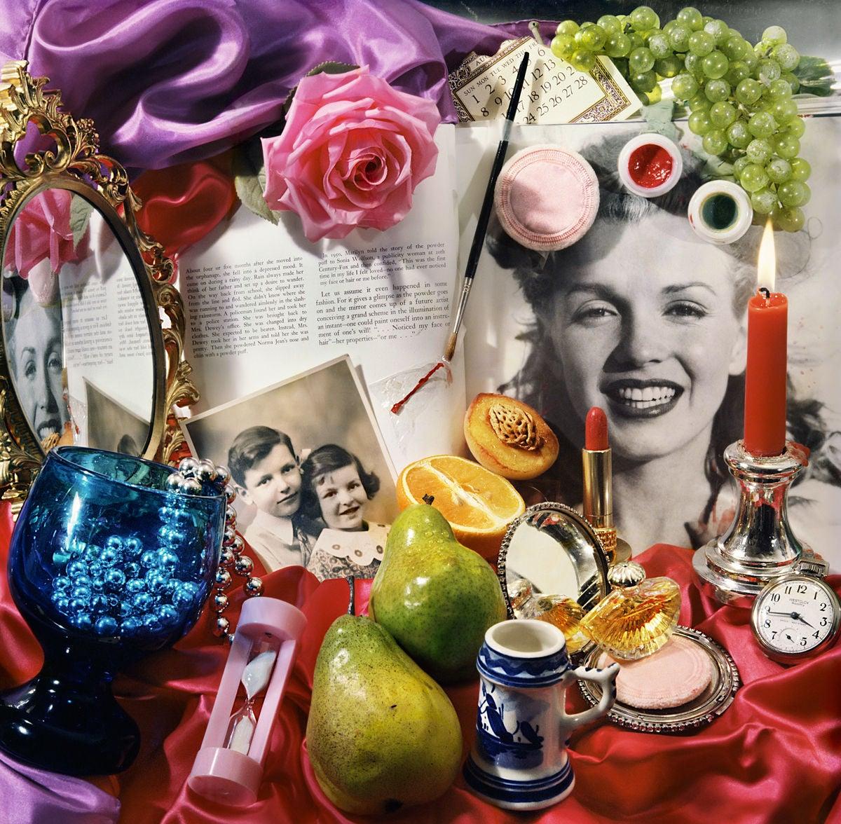 Audrey Flack - Study for Marilyn (Vanitas) II at 1stdibs