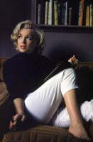 Marilyn Monroe Relaxing at Home, Hollywood, California