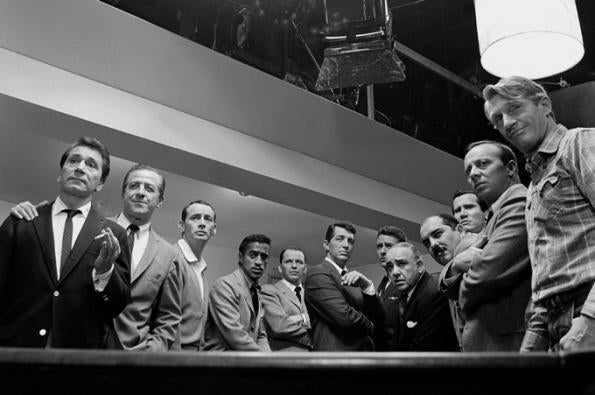 Sid Avery Ocean S Eleven Cast 1960 Photograph At 1stdibs