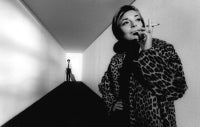 "Ann Bancroft and Dustin Hoffman on the Paramount Studios Set of ""The Graduate"", Hollywood, 1967"
