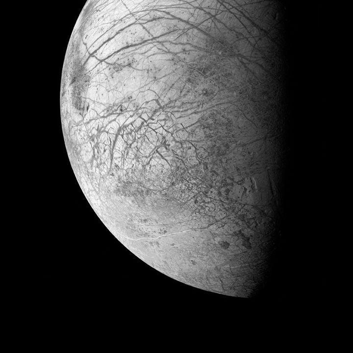 Michael Benson - Europa, Jupiter's Ocean Moon, Galileo ...