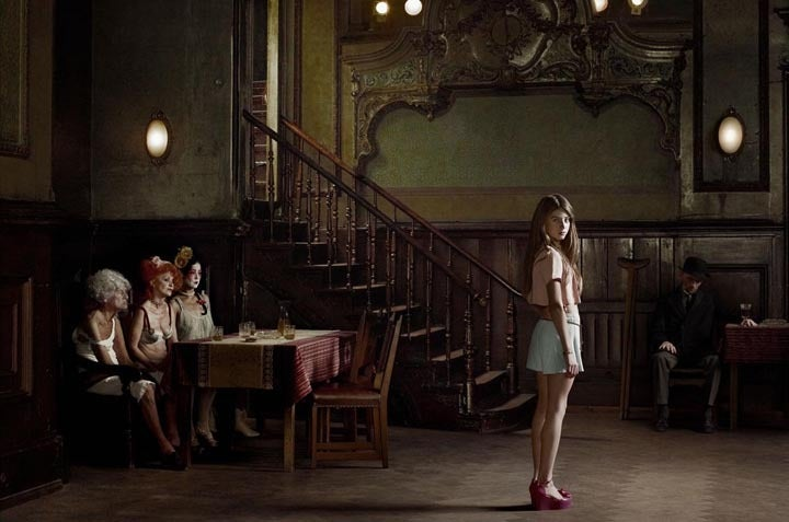 erwin olaf berlin cl rchens ballhaus mitte 10th of july 2012 photograph at 1stdibs. Black Bedroom Furniture Sets. Home Design Ideas