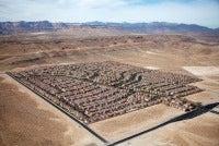 Desert Housing Block, Las Vegas, Nevada, USA, 2009