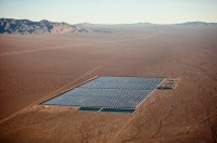 Concentrated Solar, Clark County, Nevada, USA, 2009