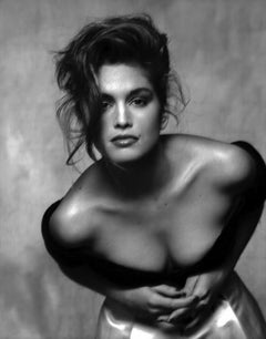 Cindy Crawford, 1988 - Terence Donovan (Black and White Photography)