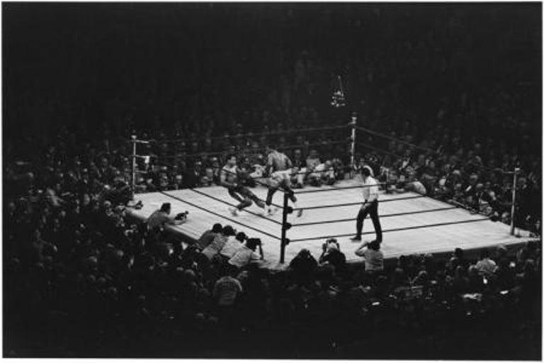 Muhammad Ali vs Joe Frazier, New York City, 1971 - Photograph by Elliott Erwitt