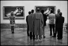 Prado Museum, Madrid, 1995 - Elliott Erwitt (Black and White Photography)