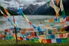 Colourful Prayer Flags, Tibet, 2005