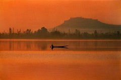 Fisherman, Dal Lake, Kashmir, 1999