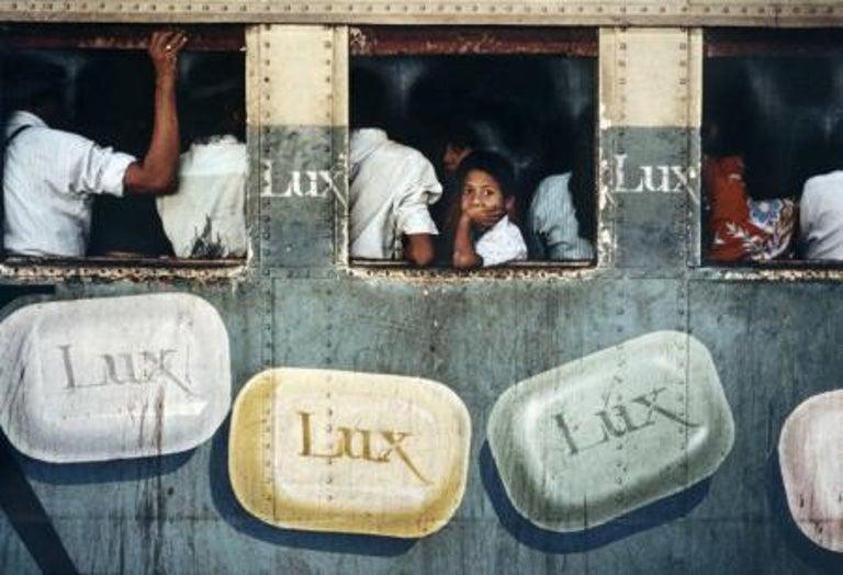 Lux Soap, Rangoon, Burma, 1994 - Photograph by Steve McCurry