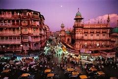 Moonrise in Mumbai, India, 1994